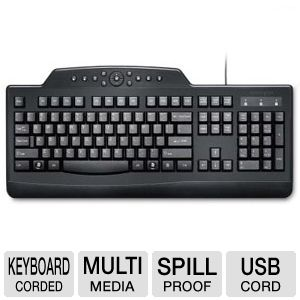 Kensington Pro Fit Media Wired Keyboard