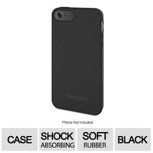 Kensington Rubber Black Soft Case for iPhone�