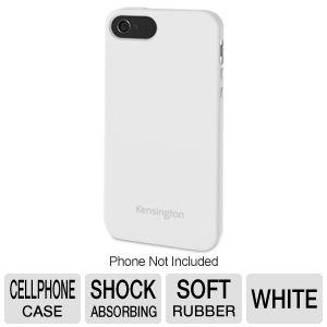 Kensington Rubber White Soft Case for iPhone�