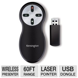 Kensington Wireless Presenter with Laser Pointer