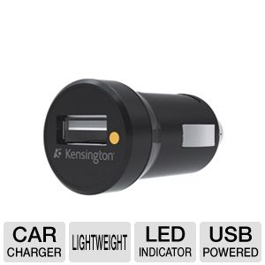 Kensington K39242US USB Car Charger