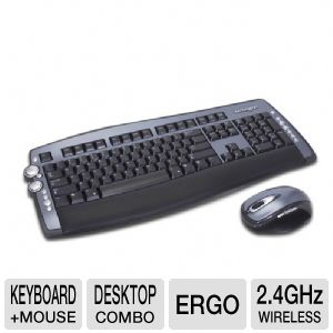 Kensington PilotBoard Laser Wireless Desktop