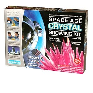 kristal 676 Space Age Crystal Growing Kits