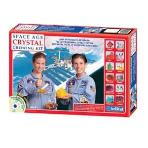 kristal Space Age Crystals 12 Crystal Growing Kit