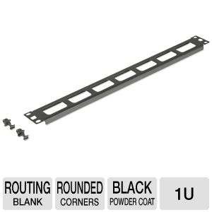 Kendall Howard 1902-1-001-01A 1U Routing Blank