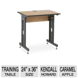 Kendall Howard Advanced Training Table