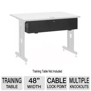 Kendall Howard Table Cable Management Enclosure