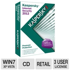 Kaspersky Internet Security 2012 Software