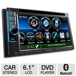 Kenwood In-Dash 2-DIN Head Unit Car Stereo
