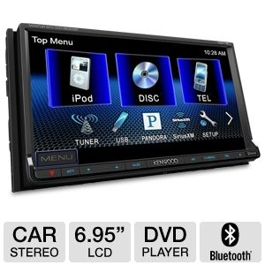 Kenwood DDX719 In-Dash 2-DIN Head Unit Car Stereo