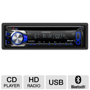 Kenwood 1-DIN In-Dash CD Receiver
