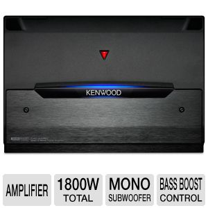 Kenwood Class D Mono Power Amplifier