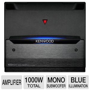 Kenwood KAC-8105D Class D Mono Power Amplifier 