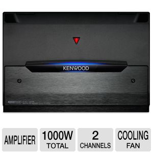 Kenwood Stereo/Bridgeable Power Amplifier
