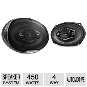 Kenwood 66Hz-22kHz Automotive Speaker System