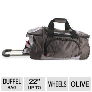 "Kenneth Cole Take A Hike 22"" Wheeled Duffel Bag"