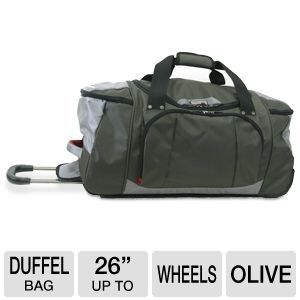 "Kenneth Cole Take A Hike 26"" Wheeled Duffel Bag"