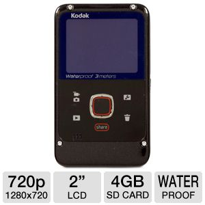 Kodak Playfull ZE2 Waterproof Camcorder