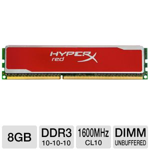 Kingston HyperX Red 8GB Memory Module