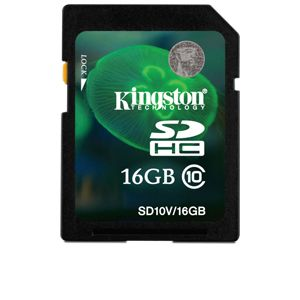 Kingston 16GB SDHC Flash Memory Card