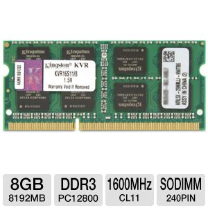 Kingston 8GB Laptop Memory Module