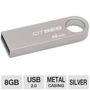 Kingston DataTraveler SE9 8GB USB Flash Drive
