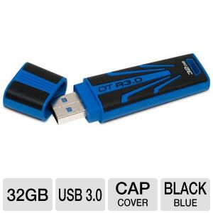 Kingston DataTraveler R3.0 32GB USB Flash Drive