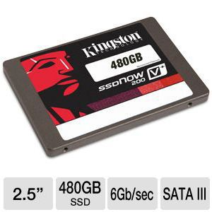 Kingston V+200 480GB Internal Solid State Drive