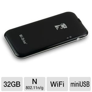 Kingston 32GB Wi-Drive Wireless Flash Storage