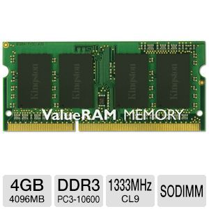 Kingston ValueRAM 4GB Notebook Memory Module
