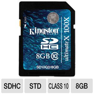 Kingston Ultimate X - flash memory card - 8 GB