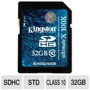 Kingston Ultimate X - flash memory card - 32 GB