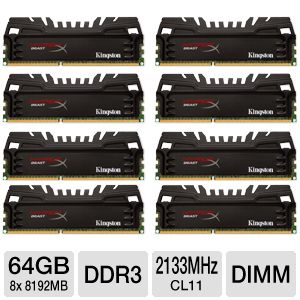 Kingston Beast 64GB Desktop Memory Module Kit