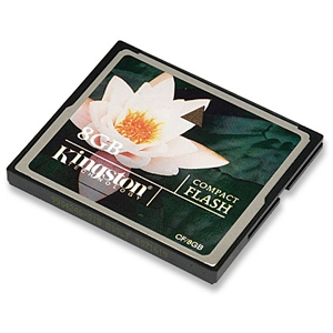 Kingston 8GB Compact Flash Card