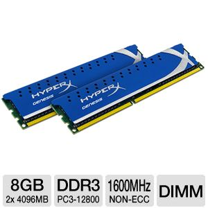 Kingston HyperX 8GB Desktop Memory Kit