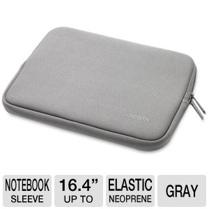 Dicota PerfectSkin Color Notebook Sleeve Gray