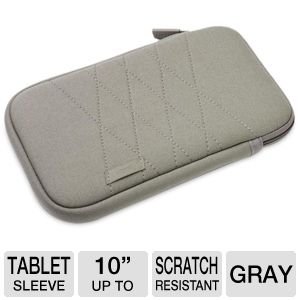 Dicota 10&quot; Gray TabSkin Sleeve for Tablets