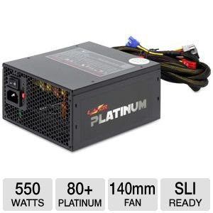 Kingwin Lazer Platinum Series 550W Power Supply