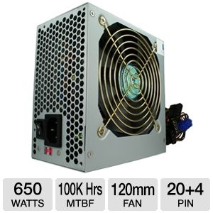 Kingwin Maximum Series ATX 650W Power Supply
