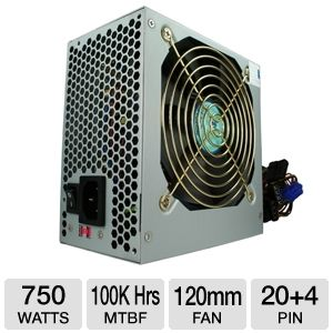 Kingwin Maximum Series ATX 750W Power Supply