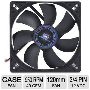 Kingwin 120mm Long Life Bearing Case Fan