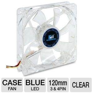 Kingwin CFBL-012LB 120mm LED Case Fan