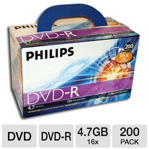 Philips DM4S6U02C/17 DVD-R 