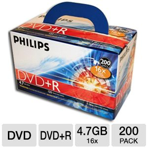 Philips DM4SDR4S6U02C/17 DVD+R 