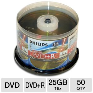 Philips DR4L6B50F/17 DVD+R