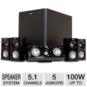 Klipsch HD500 Home Theater Speaker System