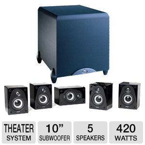 Klipsch Energy RC Micro 5.0 Home Theater Sy Bundle