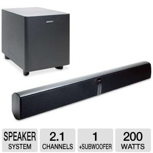 Klipsch Energy Power Bar Soundbar Speaker System