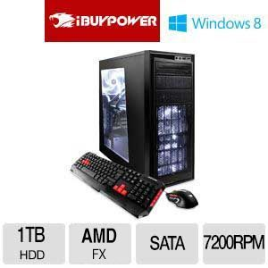 iBUYPOWER TD600 AMD FX CPU Radeon HD GFX Gaming PC