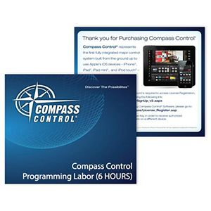 Compass Control Programming Done by Key Digital